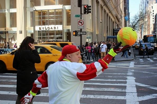 Sporty man NYC