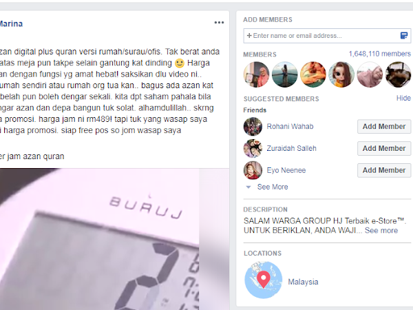 Iklankan Video Secara Auto Post Ke Facebook Group Anda