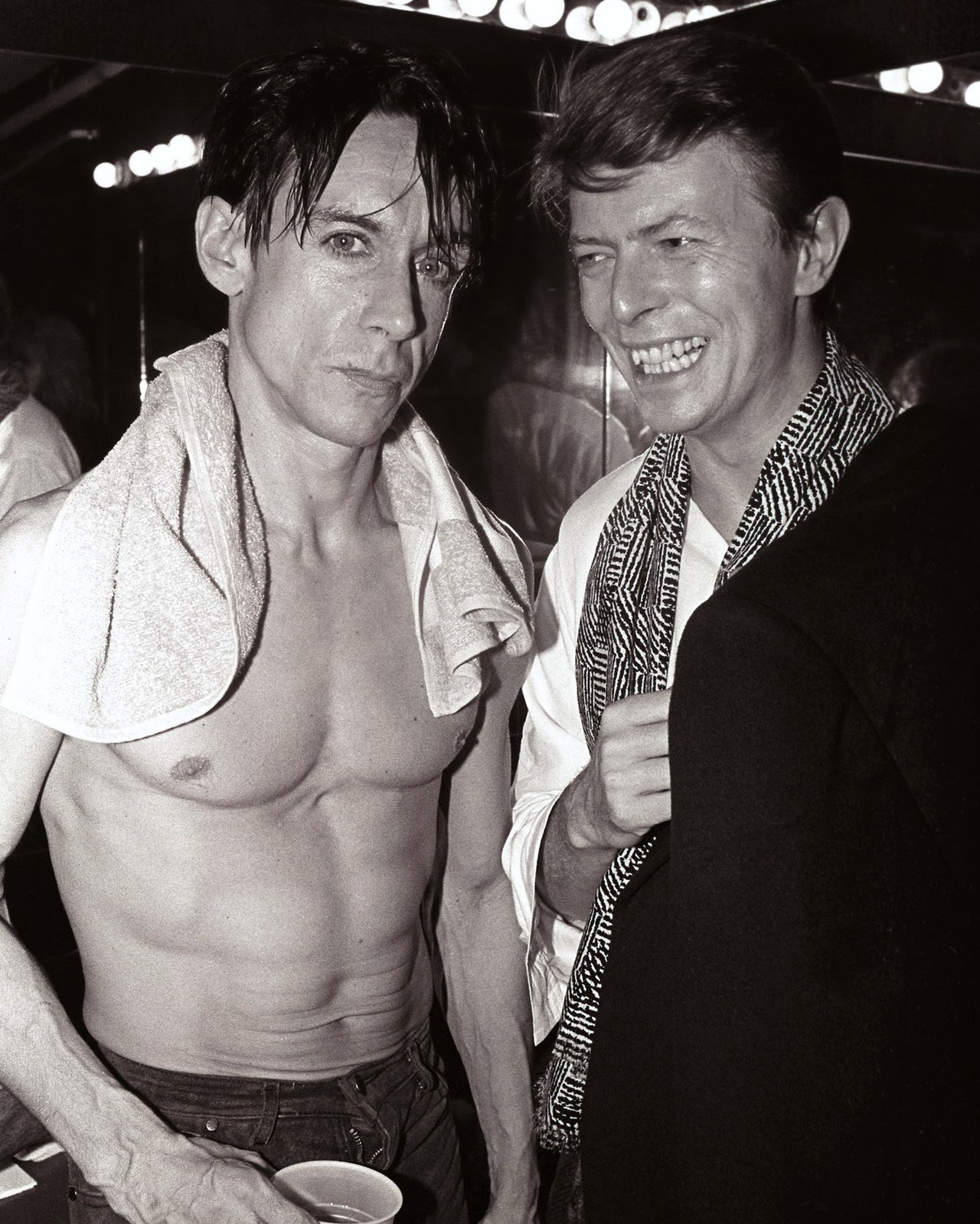 david bowie and iggy pop relationship