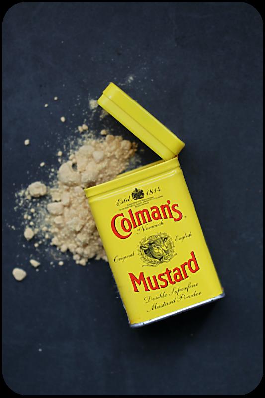Sehr feines Senfpulver von Coleman's für die Sauce Albert | Arthurs Tochter Kocht von Astrid Paul