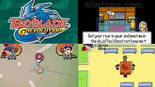 Beyblade G-Revolution GBA