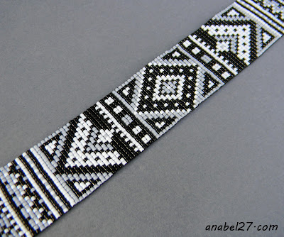 beadwork loom beaded bracelet beading