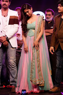 Actress Naina Ganguly Stills in Long Dress at Vangaveeti Audio Launch  0130.JPG