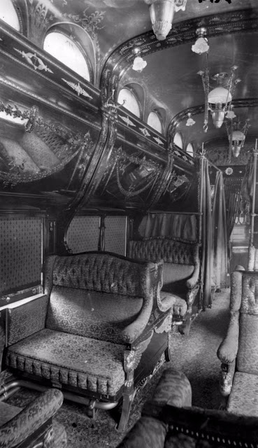 The Glory Days Of Train Travel Inside The Pullman Train