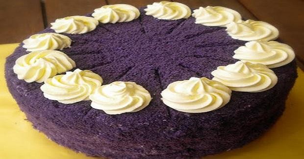 Ube Macapuno Cake Recipe