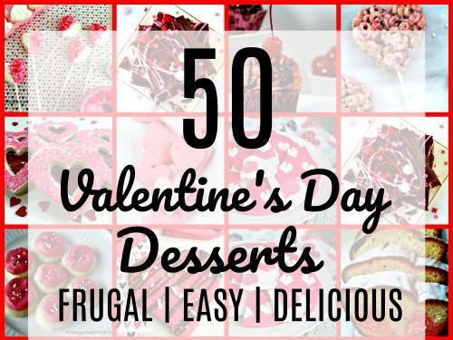 50 Frugal Valentine's Day Desserts