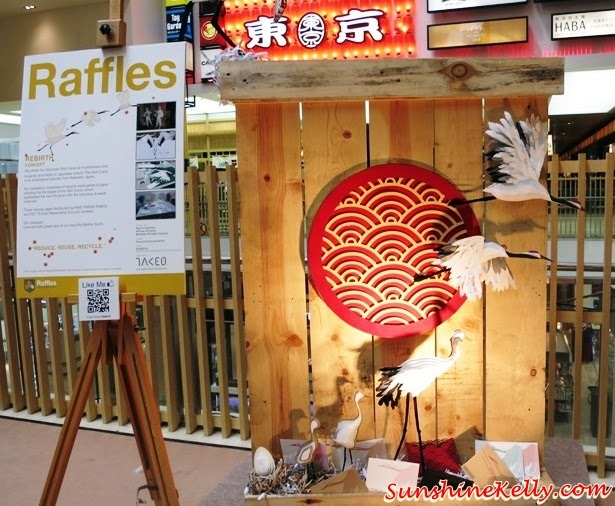 Rebirth, Tokyo Street Earth Month, raffles college, Mother Nature, Art exhibition, pavilion kl, recycle material, recycle art
