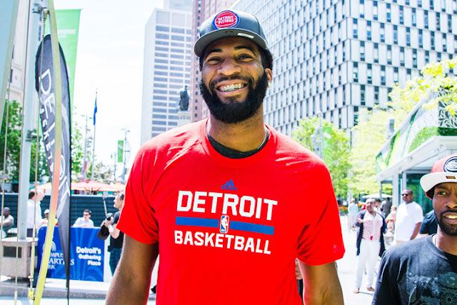 Opération nasale Andre Drummond | PistonsFR, actualité des Detroit Pistons en France