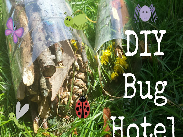 DIY Bug Hotel {Kids Craft}