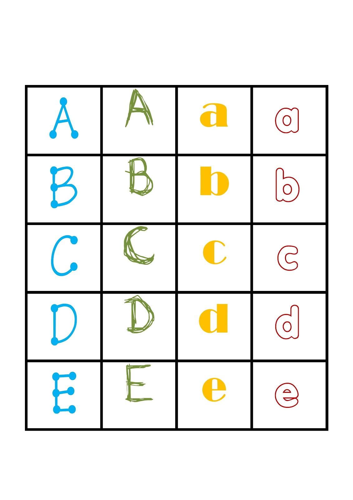 I Teacher Printable Memory Game