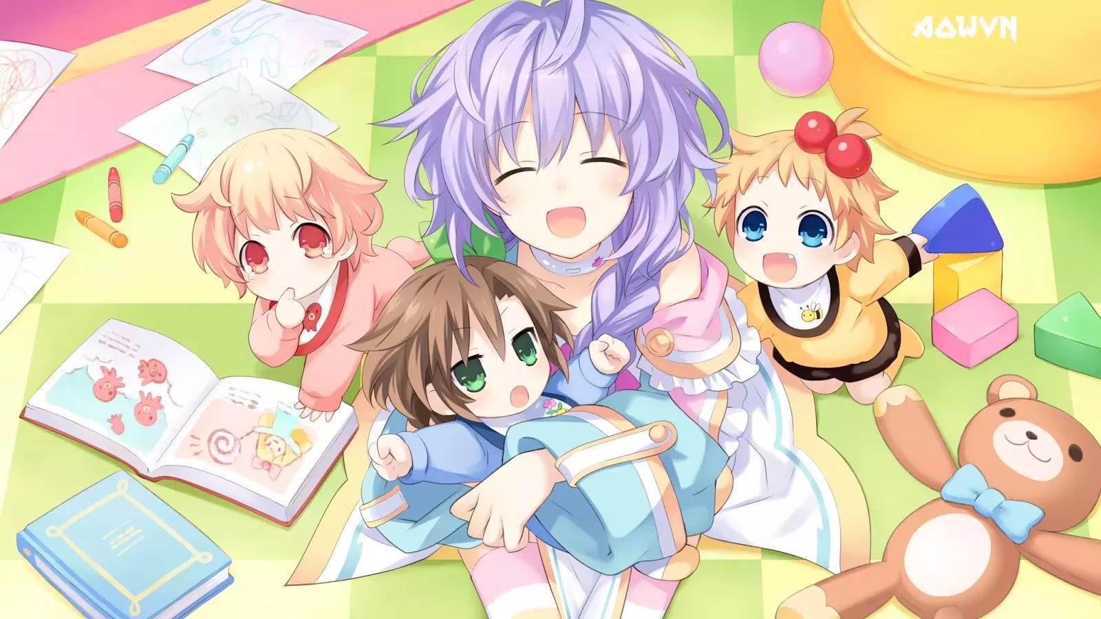 AowVN.org min%2B%252832%2529 - [ Hình Nền ] Game Hyperdimension Neptunia cực đẹp | Anime Wallpapers