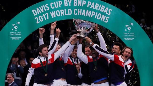 Prancis Juara Piala Davis Usai Kalahkan Belgia