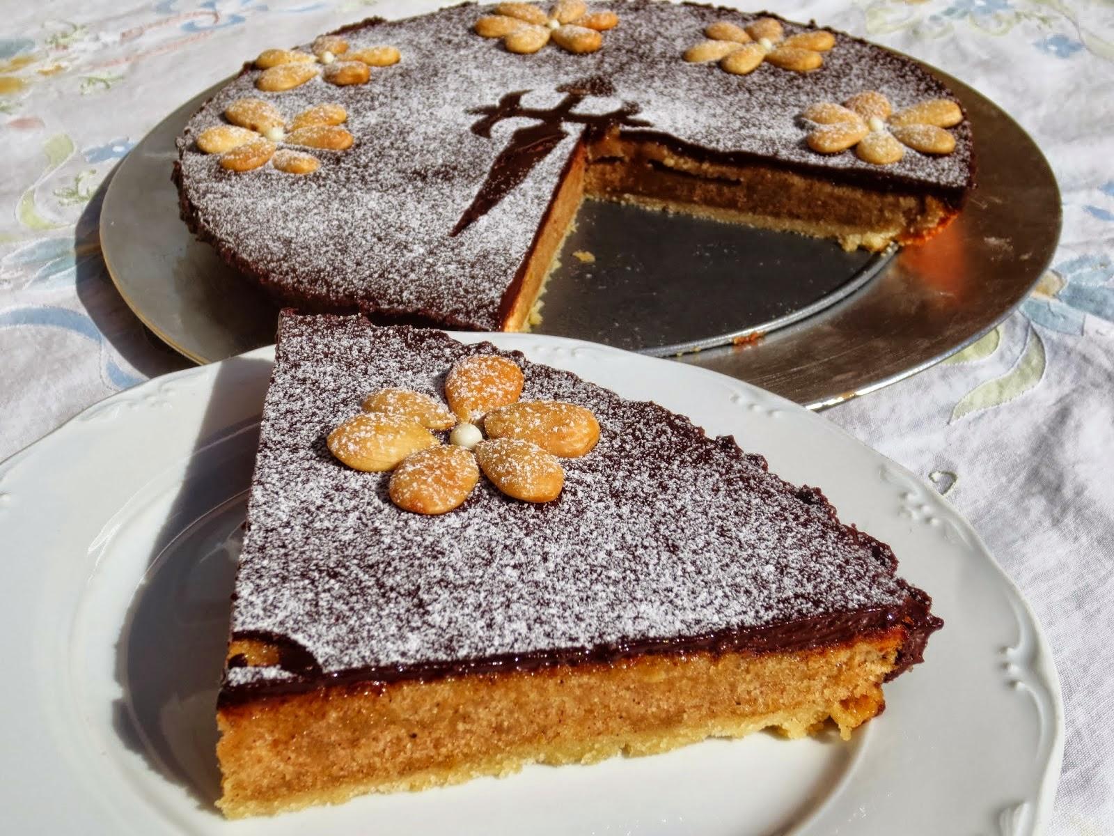 Tarta Santiago con o sin chocolate Ana Sevilla cocina tradicional