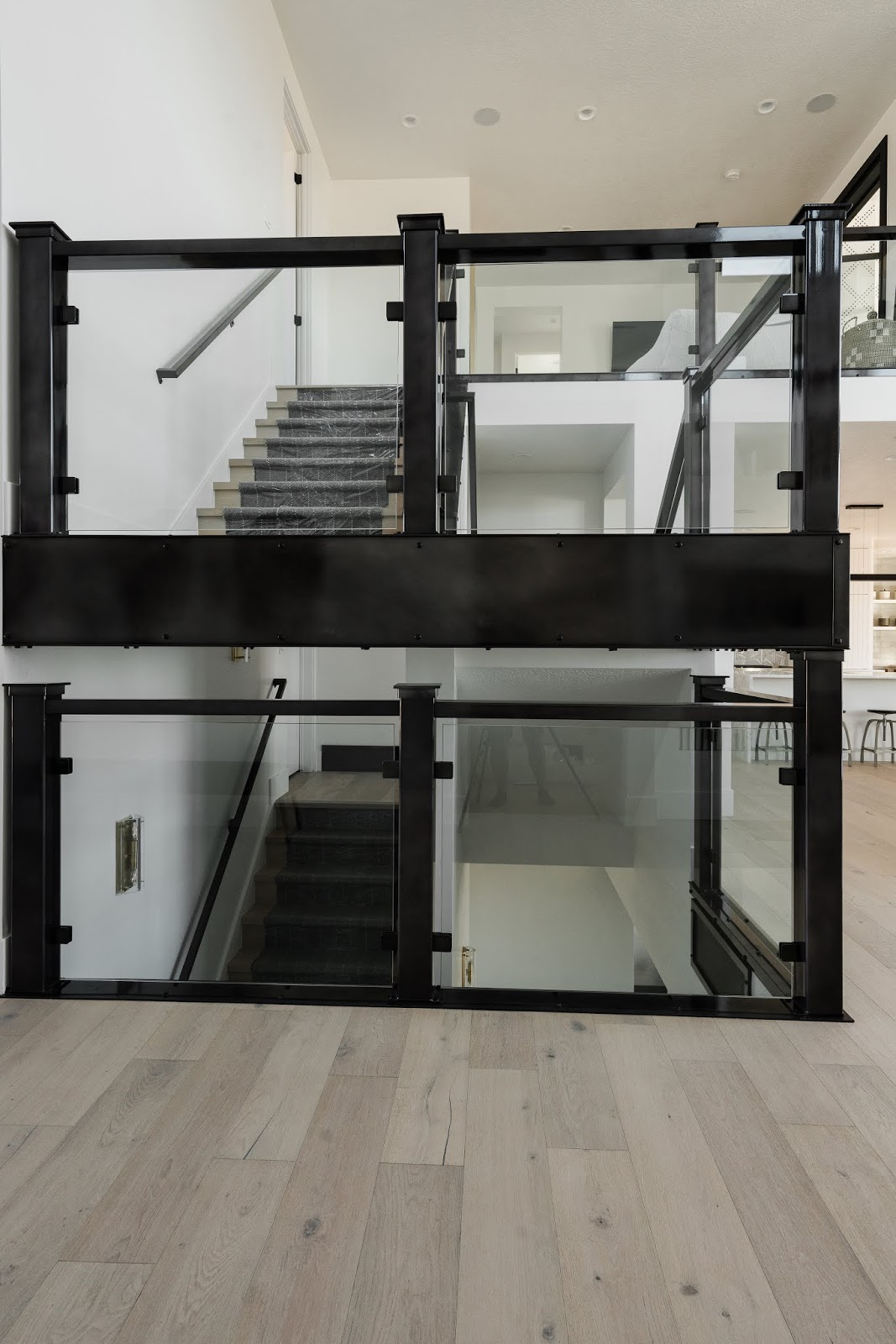Glass Staircase, Wood Stairs, Modern Staircase Runners