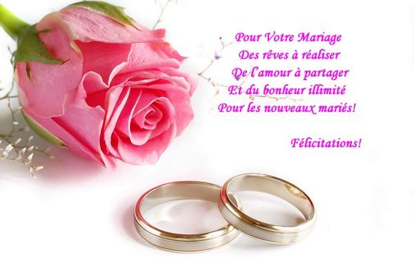 Texte pour une carte de mariage invitation mariage - Texte felicitation mariage humour ...
