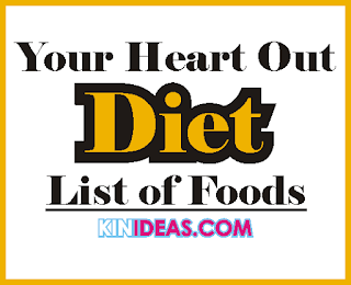Eat Your Heart Out Diet List of Foods