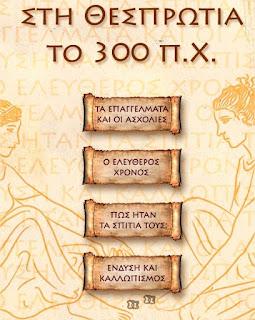 Η Θεσπρωτία στα ελληνιστικά χρόνια