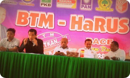 Benhur Tomi Mano dan Rustam Saru Adukan Dukungan Ganda PKPI ke Panwaslu