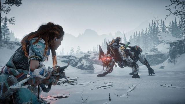 الكشف عن قائمة تروفي توسعة The Frozen Wilds للعبة Horizon : Zero Dawn