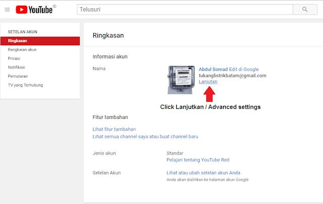 Cara Mengetahui Id Channel Youtube gambar 3