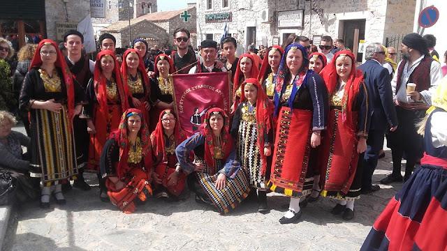 Στους εορτασμούς για την επέτειο της Απελευθέρωσης της Μάνης ο Χορευτικός Σύλλογος Αργολίδας