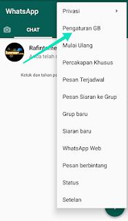 Cara mengganti tema WhatsApp tanpa aplikasi tambahan di android semua versi