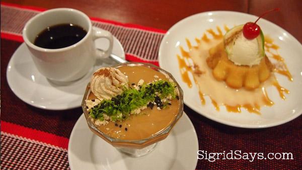 peruvian dessert at Chifa