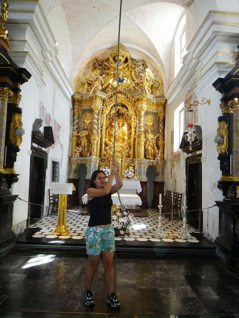 Como fazer pedidos na Igreja da Assunção de Maria em Bled