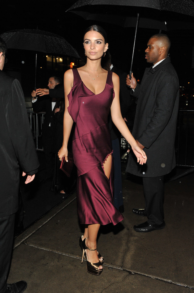 Emily Ratajkowski MET Gala 2016 After-Party