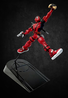 "Deadpool ""Wade: Maximum Effort"" Marvel x Air Jordan Resin Figure by Tracy Tubera"
