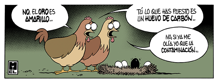 El Chiste De Mel La Gallina De Los Huevos De