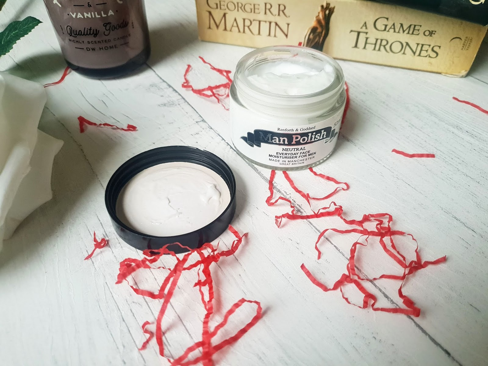 man polish mens moisturiser review