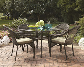 Incredible Garden Treasures Patio Furniture Among Wicker Design