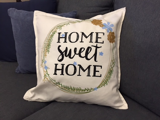 Home Sweet Home Decorative Pillow