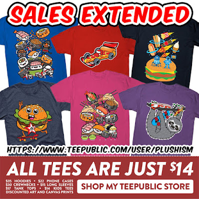 https://www.teepublic.com/user/plushism