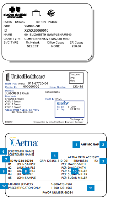Healthcare Standards: Where do they go? Insurance ID Cards