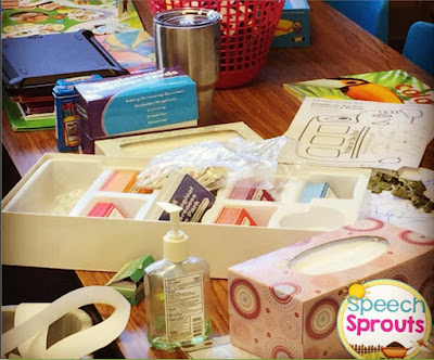 Getting Organized- My Top 3 Tips for SLPs Speech Sprouts www.speechsproutstherapy.com