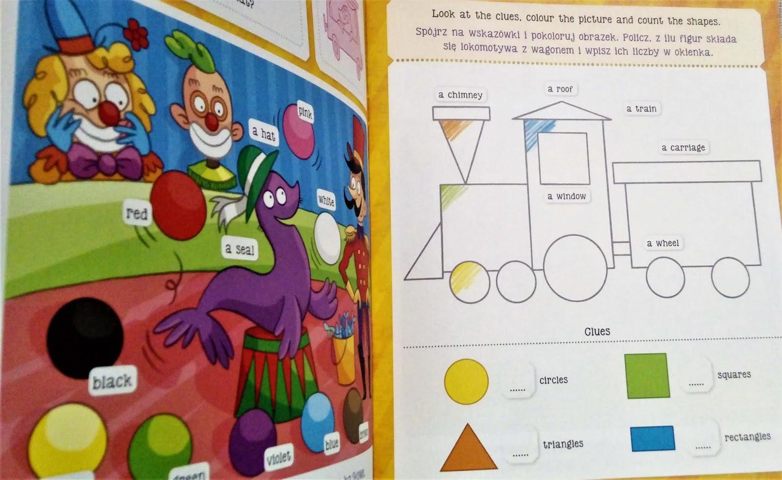 Angielski Dla Dzieci Książeczki Aktywizujące Od