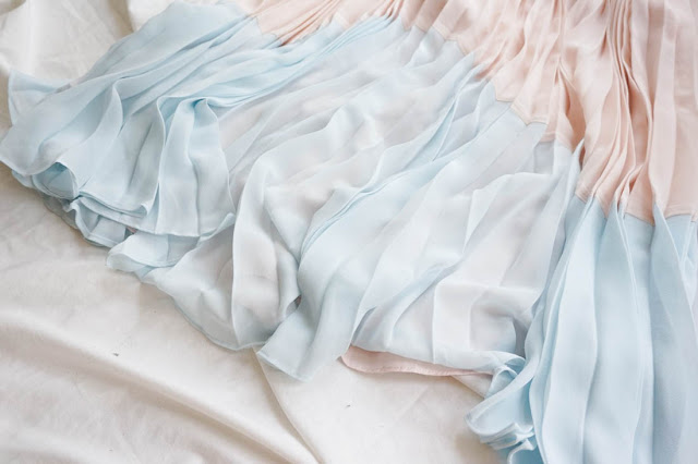 bas robe pastelle