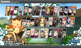Kumpulan Game Naruto Senki v1 19 Fixed 1 Apk Full Version Terbaru
