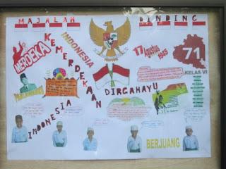 Majalah dinding MI Al Raudlah Banjarmasin