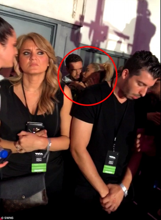 Liam Payne and Rita Ora caught getting cozy backstage at MTV VMAs