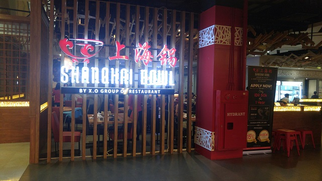 Restoran Shanghai Bowl di Lenmarc Mall kota Surabaya
