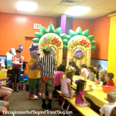 Family Fun at Monkey Joe's in Camp Hill