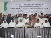 RI-Uni Emirat Arab Tanda Tangani Kerjasama Pengiriman Imam Masjid