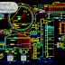 مخطط خزان بأحجام مختلفة (100-150-400)م3 كاملا اوتوكاد dwg