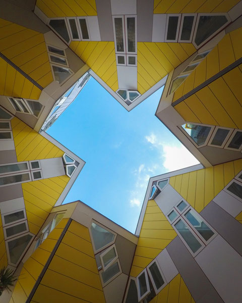 cube house photo rotterdam denmark