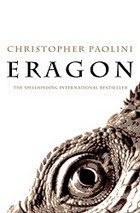 Eragon by Christopher Paolini book cover