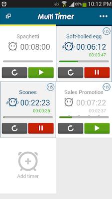 تطبيق Multi Timer StopWatch مكرك, تطبيق Multi Timer StopWatch عضوية فيب