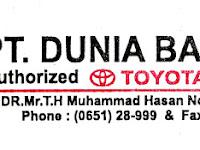 Lowongan Kerja Security, Cleaning Service & Driver DUNIA BARUSA